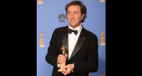 Sorrentino thanks 'crazy, but beautiful' Italy
