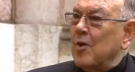 Pope's new cardinal says being gay is a 'defect'
