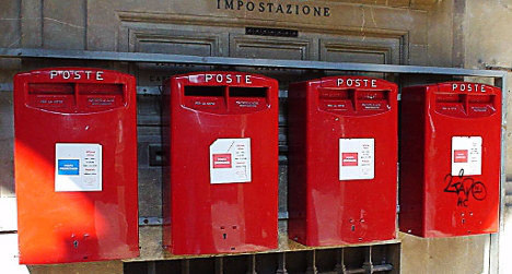Italy to sell post office stake in bid to raise cash