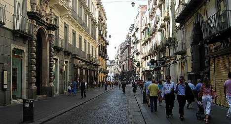 'Naples really isn't as dangerous as people say'
