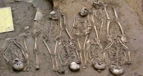 'Plague' victims burial site found in Florence