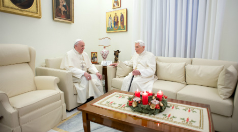 Pope Benedict settles for the quiet life