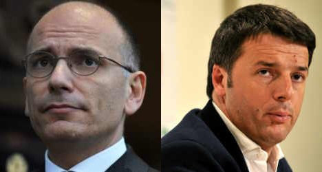 Italy prime minister faces showdown with rival