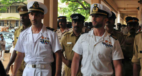 Italians saved from India's death penalty law