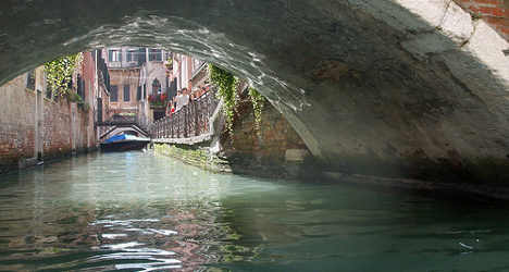 Iranian woman's body dumped in Venice canal