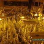 The drug factory was discovered in a warehouse in Vaiano, north of Prato in Tuscany.Photo: CC Prato