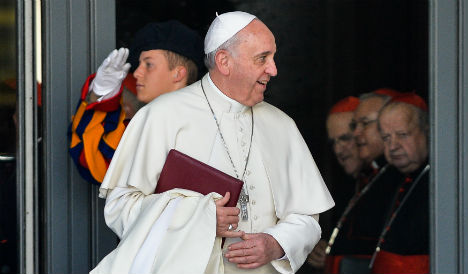 Pope moves away from Europe for new cardinals