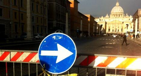 Rome braces for 'chaos' as Obama visits