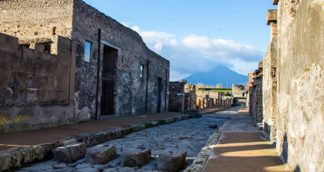 Renzi asks private sector to help save Pompeii