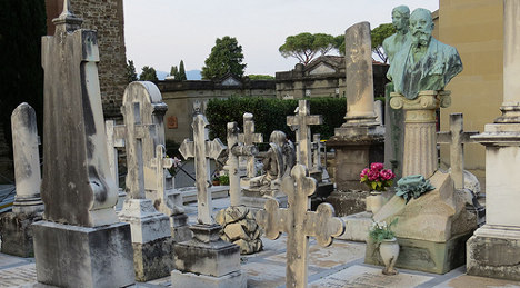 Corpses 'dug up and abandoned' in cemetery