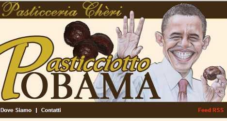 Italian baker in Obama visit chocolate giveaway