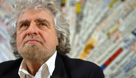 Beppe Grillo faces jail over train protest