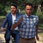 """The premier tries to catch up with Forrest Gump.Photo: <a href=""""https://twitter.com/andreafcecchin"""">Andrea Federico Cecchin</a>"""