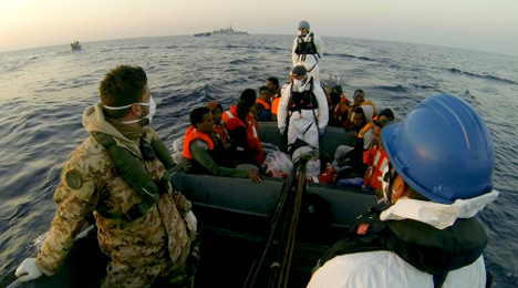 Italy rescues 4,000 boat migrants in 48 hours