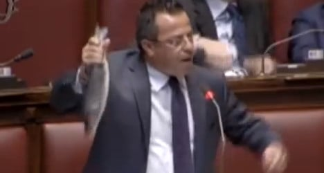 So long, and no thanks for the fish: MP ejected