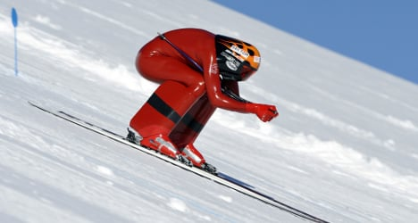 The world's fastest man on skis