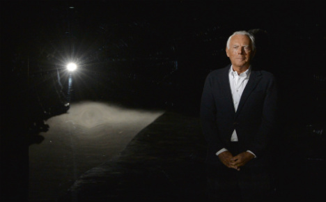 Armani settles tax row with €270m payoff
