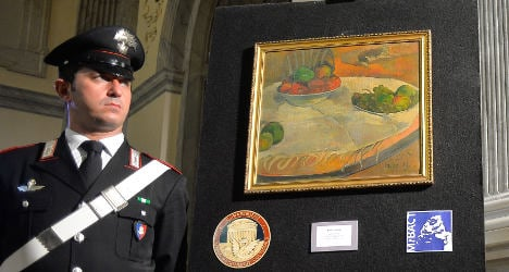 Fiat worker 'happily' lived with stolen artwork