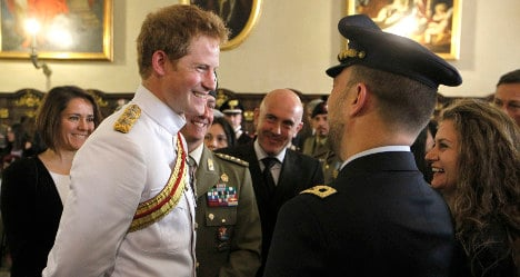 Prince Harry visits WWII battle site in Italy