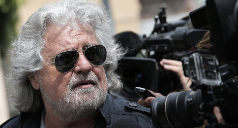 Spin doctor tells ex-comedian Grillo to smile