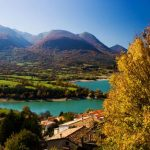 """Lake Barrea (Lago di Barrea) is a reservoir in Abruzzo, created in the 1950s, inside a national park and overlooked by three villages. Photo: <a href=""""http://shutr.bz/1iI58Pd"""">Shutterstock</a>"""