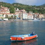"""A ride from Rio Marina to Rio nell'Elba, on the island of Elba, comes with views across the sea to Tuscany. Photo: <a href=""""http://shutr.bz/1giELoz"""">Shutterstock</a>"""