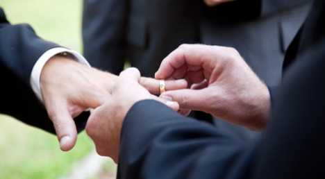 First gay marriage to be registered in Naples