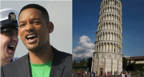 Pisa goes viral with Will Smith selfie