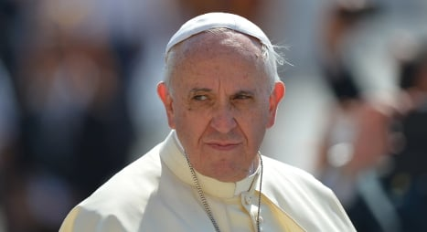 Pope meets sex abuse victims for first time
