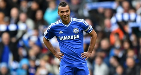 Ashley Cole welcomed by Roma after Chelsea exit