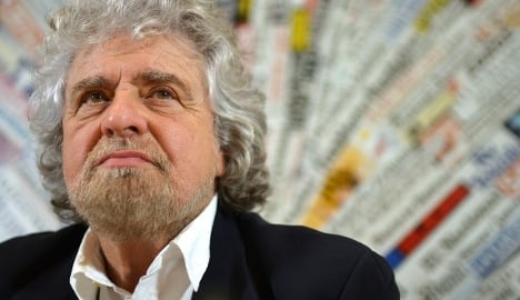'EU money ends up with the mafia': Beppe Grillo