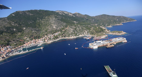 Shipwreck 'finally put Giglio on the map'