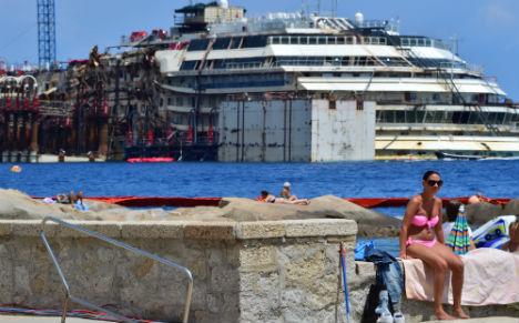 Costa Concordia removal to start on Monday