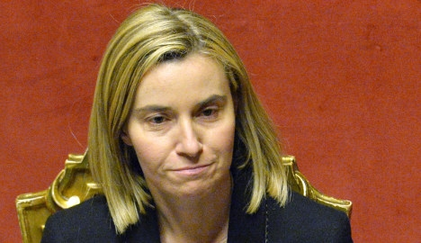 Italy insists on top EU job for derided minister