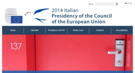 Italy urged to include German on EU website