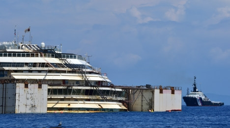Human remains found in Concordia wreck