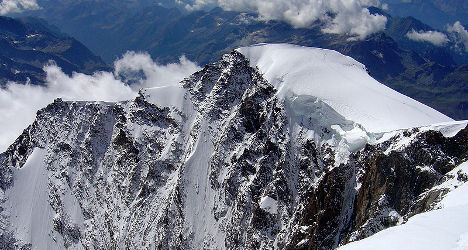 Climber killed in Monte Rosa Massif