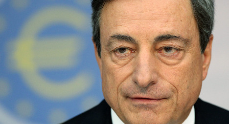 ECB chief comes down hard on Italy's economy