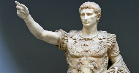 Rome fetes Augustus by opening up his home