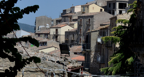 Homes for sale for a euro in ancient Sicily village