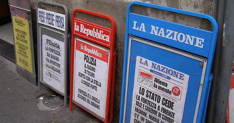 Italy's journalists live in fear of mafia threat