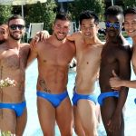The contestants had long been practising for the event's Photogenic Challenge.Photo: Beate A Tecza/MrGayWorld.com