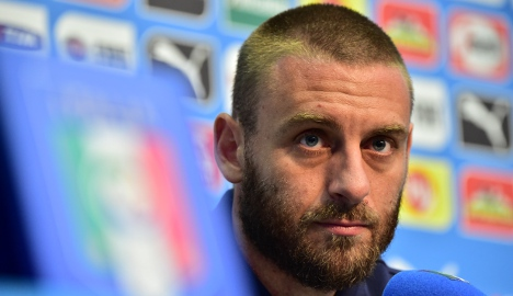 Doubts over De Rossi for Manchester City clash