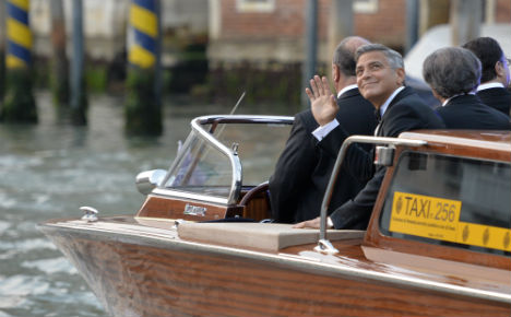 Clooney ties knot in star-studded Venice bash