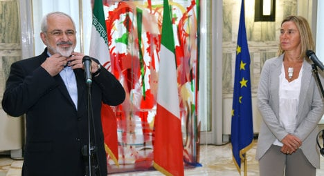 Iran looks to better EU ties with Italian at helm