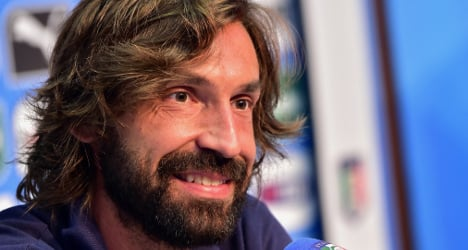 Andrea Pirlo 'available' to play for Italy