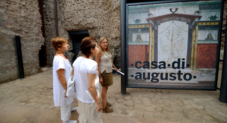 Augustus's rooms open for first time in Rome