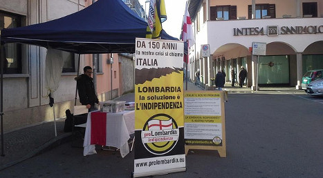 Italy separatists unfazed by Scotland's 'no'