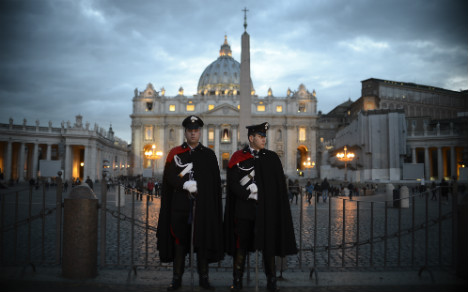 Security upped at Vatican over attack fears