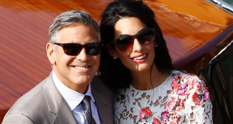 Clooney wedding 'good news for the Middle East'